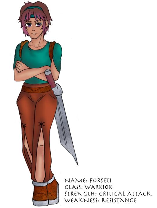 Forseti Character Sheet